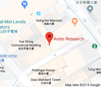 Arete Research - Hong Kong